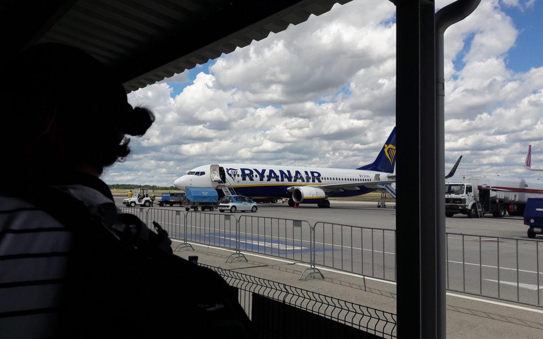 RyanAir gép Budapest