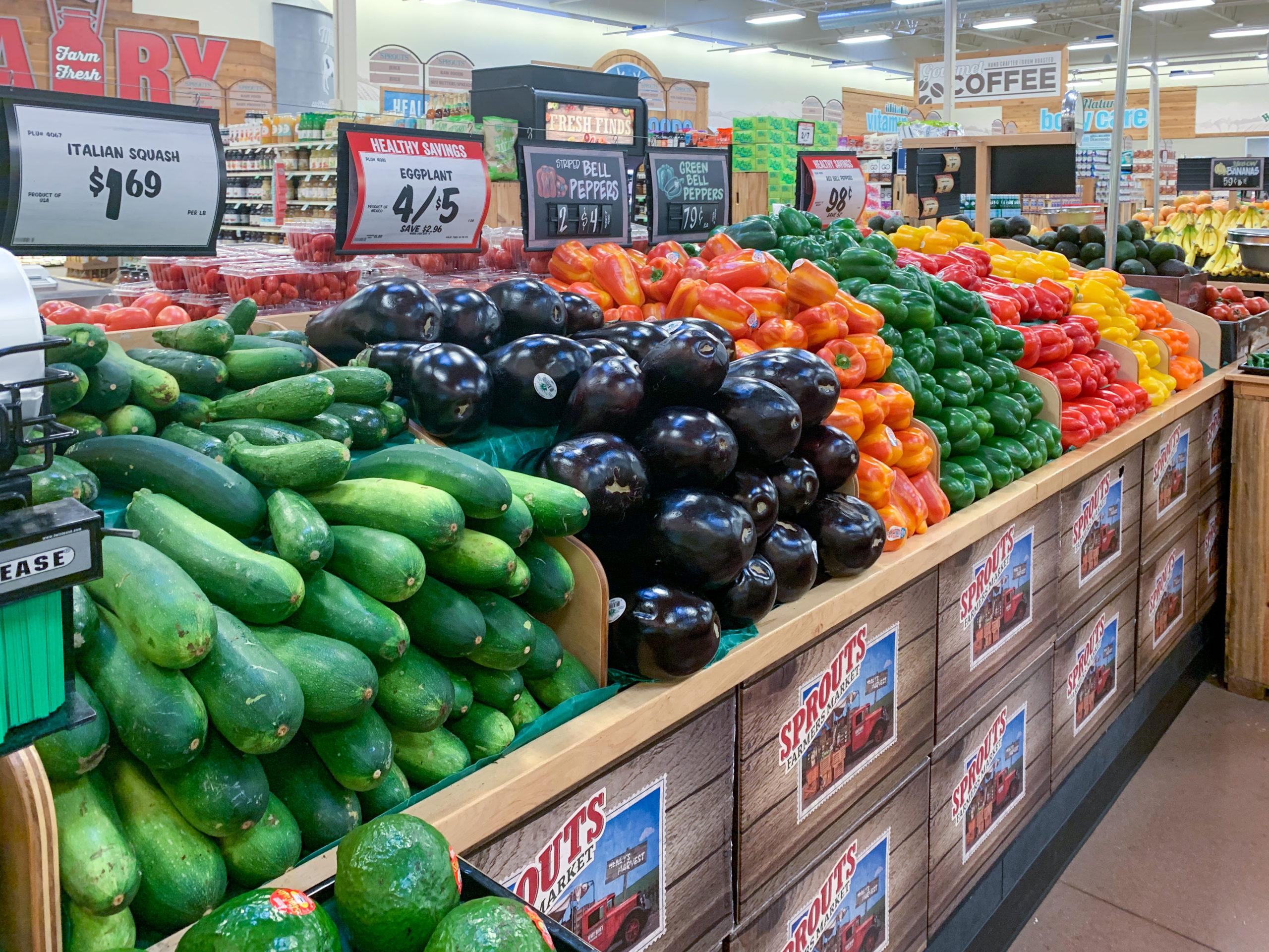 Zöldségek a Sporutsban