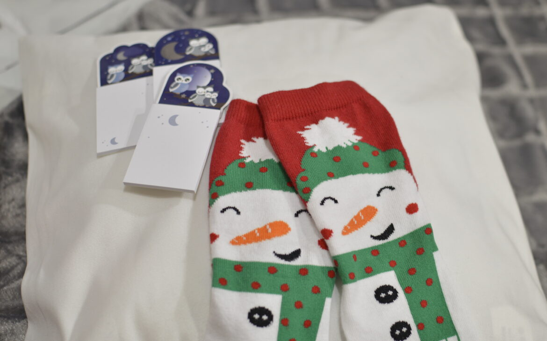 Hóember zokni