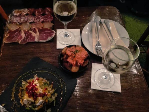 Vicky Barcelona - vacsora