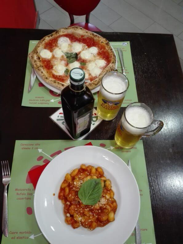 Pizzaioli Veraci - Pizza, Gnocchi és két hűs sör